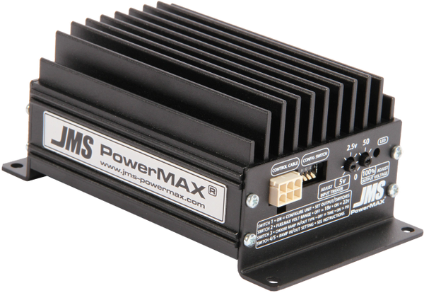 JMS POWERMAX V2 • FUELMAX • PLUG & PLAY (SINGLE) FUEL PUMP VOLTAGE BOOSTER -2015-2018 F150