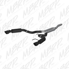 """MBRP Race Version - 3"""" Cat-Back Exhaust - 2015-2017 Mustang EcoBoost 2.3L"""