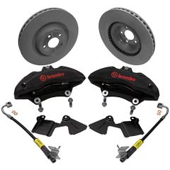 Ford Racing Performance Pack BREMBO Front Brake Upgrade Kit - 2015-2018 Mustang GT/2.3L EcoBoost