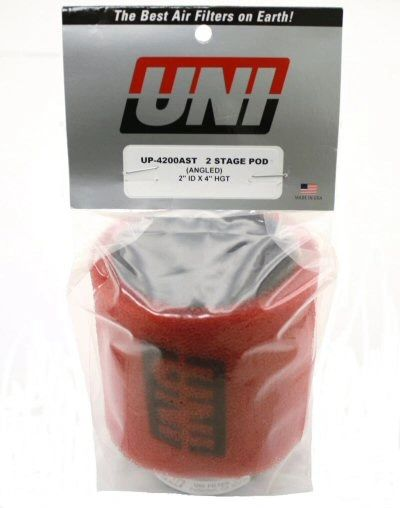 Uni UP-4182AST Angled Dual Layer Pod Air Filter