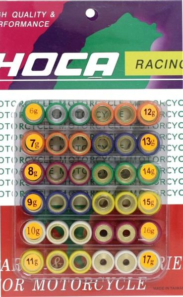 Hoca 18x14 GY6 Roller Weight Tuning Kit