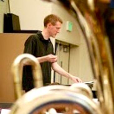 Philip Dungey trumpet is an ensemble coach with Collaborative Musicians Project