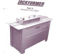 Lockformer Mdl 16 Parts book