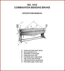 PEXTO 1012 COMBINATION BENDING BRAKE
