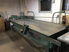 Used Engle Shopmaster slitter notcher
