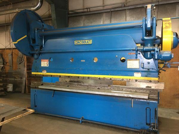 Used Cincinnati 225 Ton Mechanical Press Brake