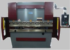 GMC HYDRAULIC PRESS BRAKE # HPB-4504CNC, 45 Ton x 4'