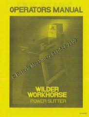 Wilder 2024 1624 1424 1630 Slitters