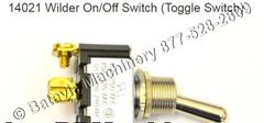 14021 Wilder On/Off Switch (Toggle Switch)