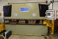 USED U.S. INDUSTRIAL 88 TON X 10' HYDRAULIC PRESS BRAKE