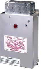 Phase-A-Matic Static Phase Converter Horse Power 4-8 PAM-900