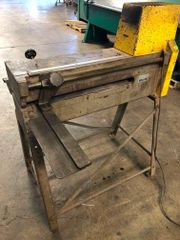 Used 1624 Wilder Slitter and Stand