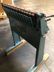 Used Lockformer 24″ Cleat Bender and Stand