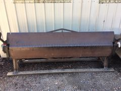 USED CHICAGO 10' X 16 GAUGE STRAIGHT BRAKE