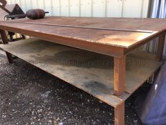 USED 4' X 10-1/2 WELDING TABLE
