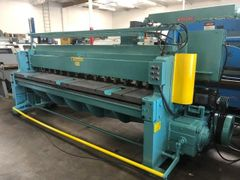 Used Wysong 1010 RD Mechanical Squaring Shear