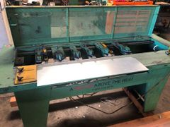 Used Berry Notcher, S & Drive Heads