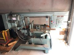 Used Ellis 3000 mitering band saw