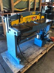 Used Pexto 1552 Hydraulic Shear with Backgauge, 3ph