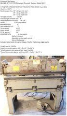 Used Bantam BRAKE 4FT 12 TON Pneumatic Powered Model B412