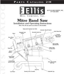 Ellis parts list and operation booklet