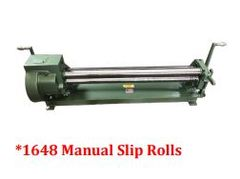 Tin Knocker 1648 Manual Slip Rolls