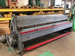 Used Niagara 1010 Mechanical Shear with Rear Manual Back Gauge