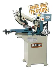 Baileigh Horizontal Bandsaw BS-210M