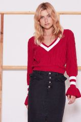 The Fifth Label Graduate Varsity Sweater