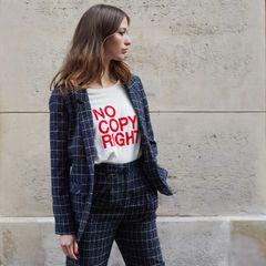 FRNCH Paris No Copy Right Tee