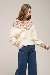 Moon River Vintage Inspired Sweater