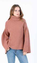 Lucca Anaya Rib Turtleneck Sweater