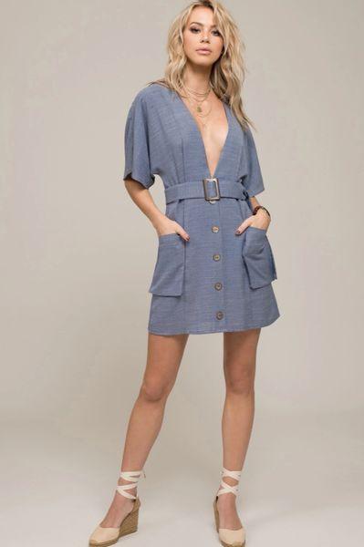 d26f33fe71c Moon River Button Up Dress
