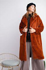 Plush Coat Menswear Styling