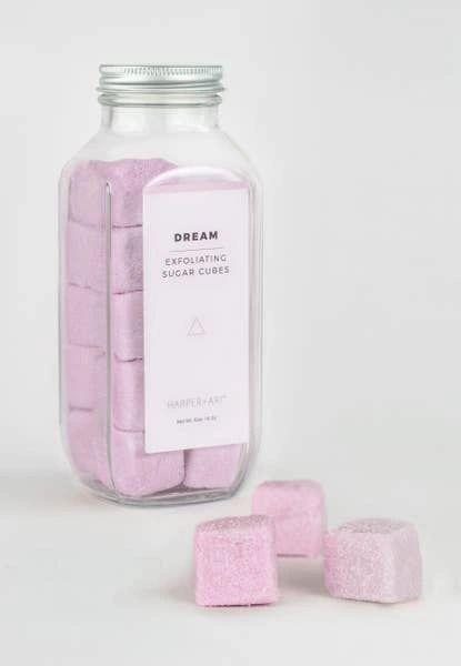 Exfoliating Sugar Cubes