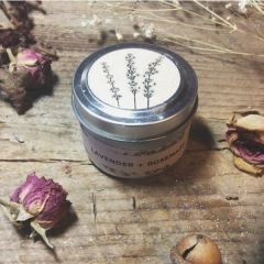 Lavender and Rosemary Candle Travel Tin