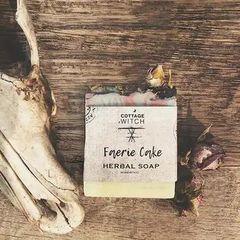 Faerie Cake Herbal Soap