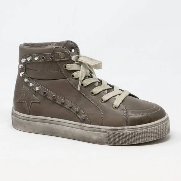 Teagan Faux Leather Sneaker