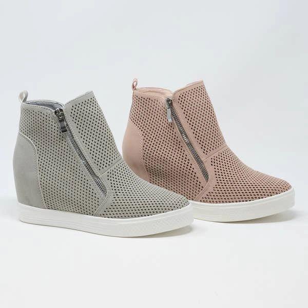 Charoltte Wedge Sneaker