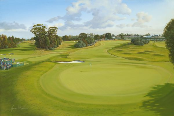 Royal Melbourne, Australia. 2011 Presidents Cup
