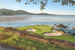 Pebble Beach 7th Hole Limited Edition