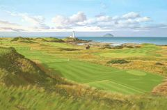 Turnberry 11th and 12th. Official Print