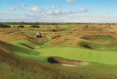 Royal St. Georges, England. 6th Hole. Official Championship Print