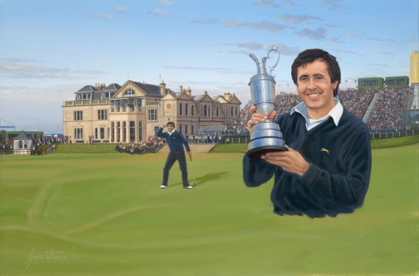 Seve Ballesteros Open Champion 1984