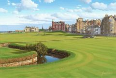 St. Andrews Old Course. 2005 Official Open Championship Print