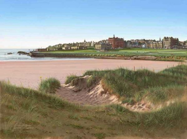 St Andrews, Westsands Beach.
