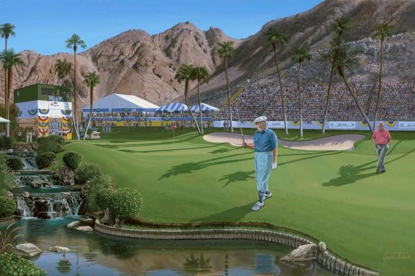 Bob Hope , Indian Wells Commemorative Print