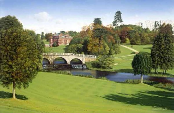 Brocket Hall, England