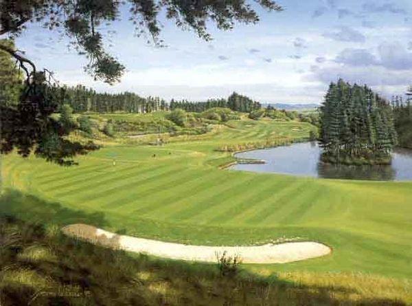 Gleneagles Queens Course, Scotland