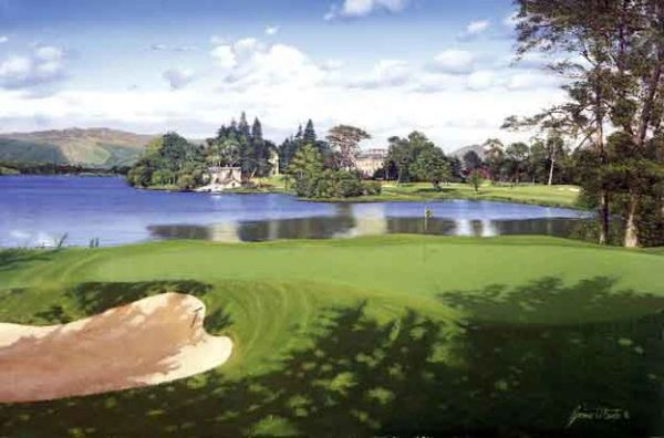 Loch Lomond 17th Hole